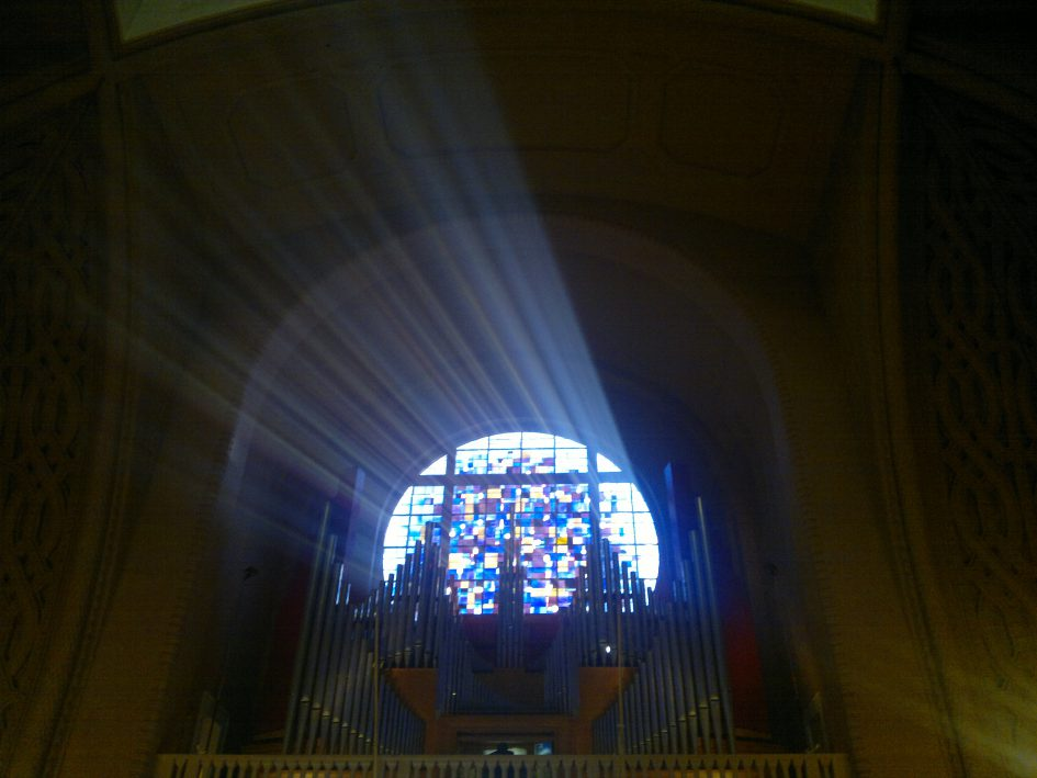 Jeanne d'Arc Church, Versailles. Don Mullan