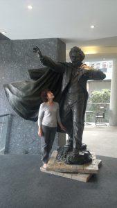 Nettie Douglass in her great great grandfather's footsteps 206
