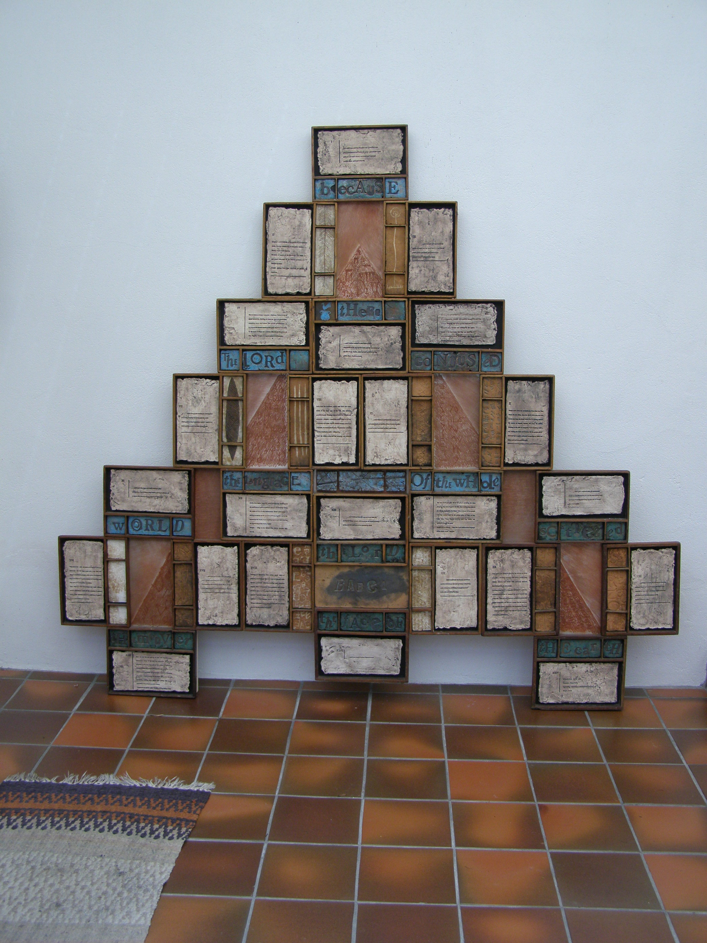 Babel: Vista on Confusion, Sculpture by Jan de Fouw