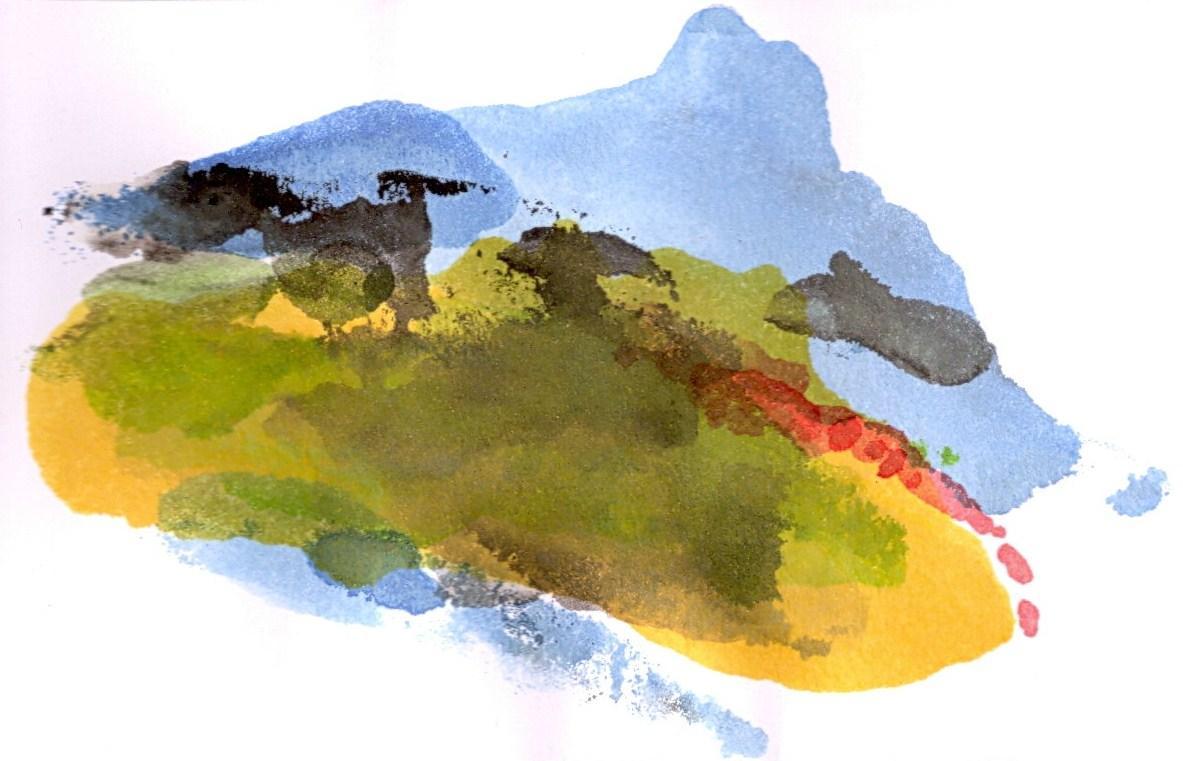 de fouw babel watercolour 1