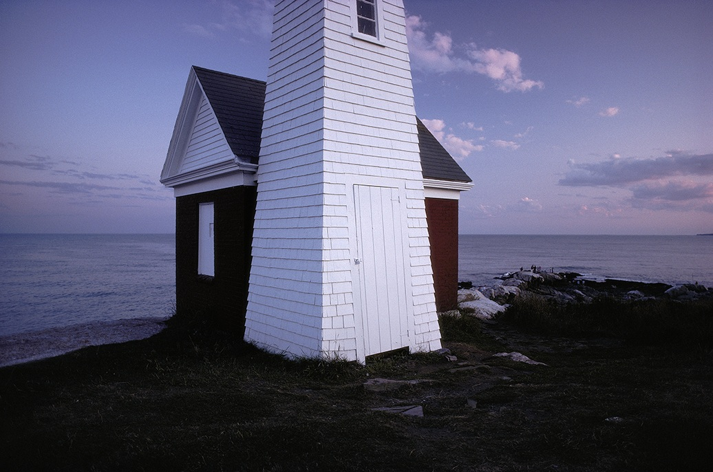 Bell tower, Pemaquid Point, Maine. Photo by Paul Johnson