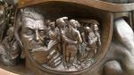 'The Meeting Place' a sculpture by Paul Day. Photo by Don Mullan.