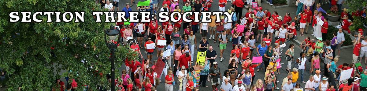 Section Three: Society