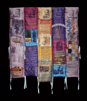 From a Birmingham Jail- Quilt by L'Merchie Frazier