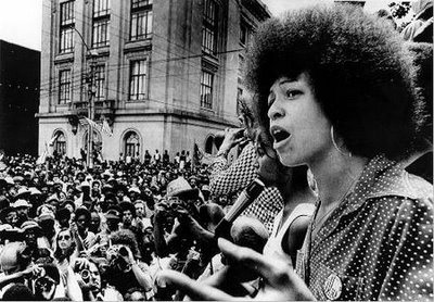 Angela Davis speaking in Oakland, 1969
