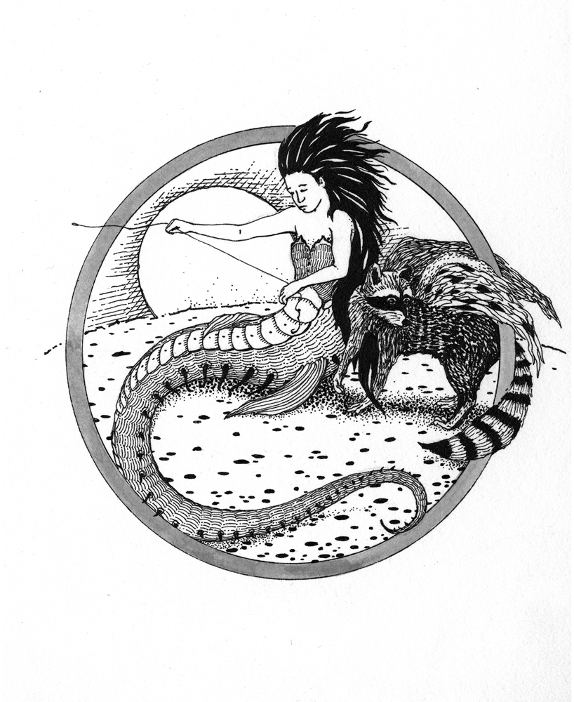 The Mermaid, The Manticore, and Me by Briony Morrow-Cribbs