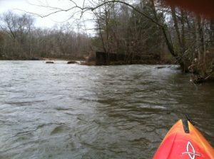 Dam and Old Mill Site, Pacolet River