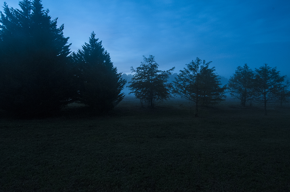 Blue Fog at Dusk photography by Ed Croom