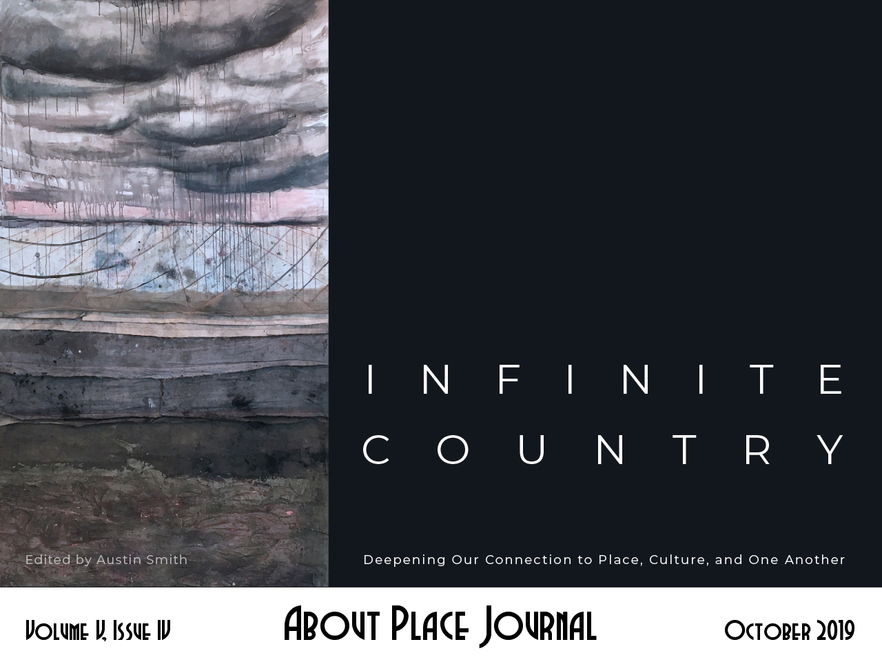 About Place Journal - Infinite Country cover